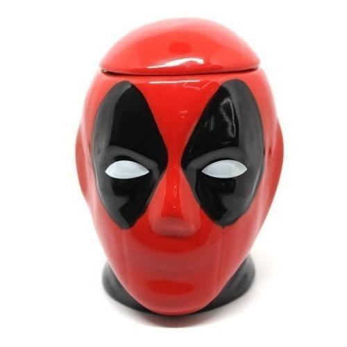 Подарочная 3D керамическая кружка Супергерои. Дэдпул (Deadpool) (фото, вид 10)