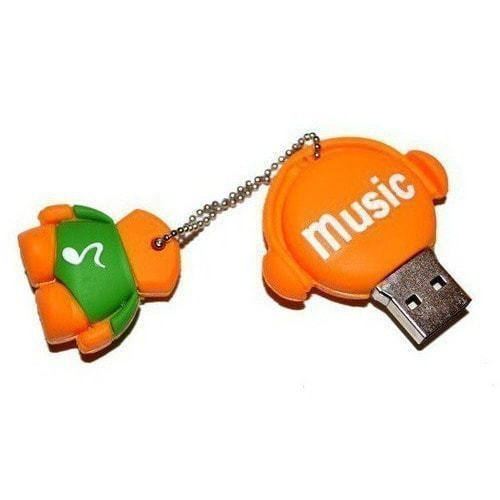 Подарочная флешка. Music-man (фото, вид 6)