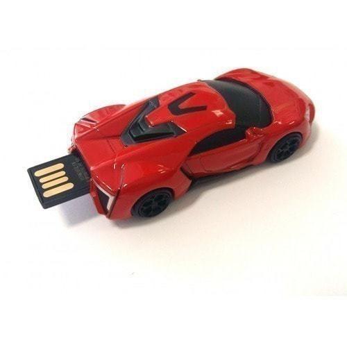Подарочная металлическая флешка. Автомобиль McLaren (фото, вид 2)