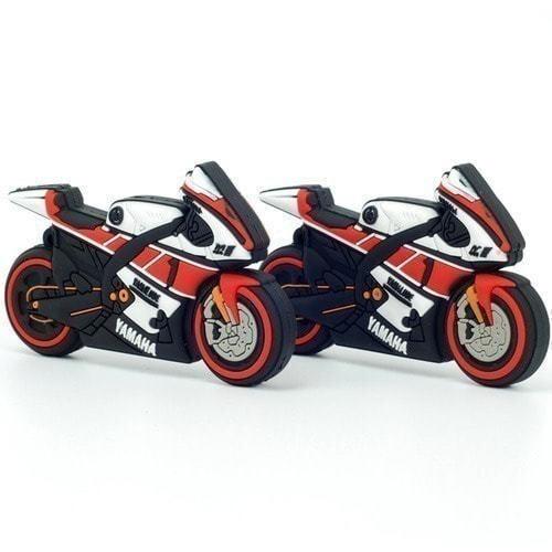 Подарочная флешка. Мотоцикл Yamaha (фото, вид 2)