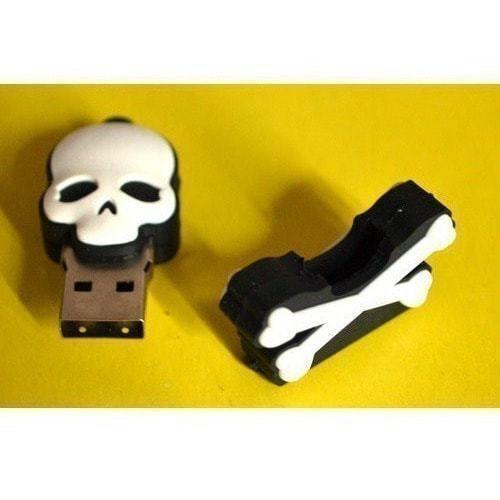 Подарочная флешка. Пиратская метка. Веселый роджер (фото, вид 3)