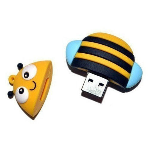 Подарочная флешка. Пчелка (фото, вид 4)