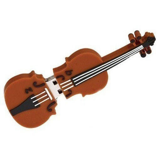 Подарочная флешка. Скрипка (фото, вид 4)