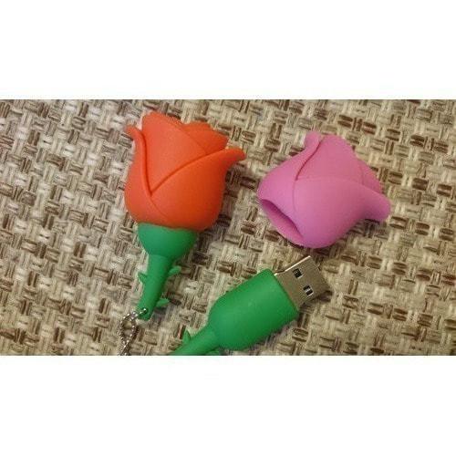 Подарочная флешка. Цветок. Роза (фото, вид 2)