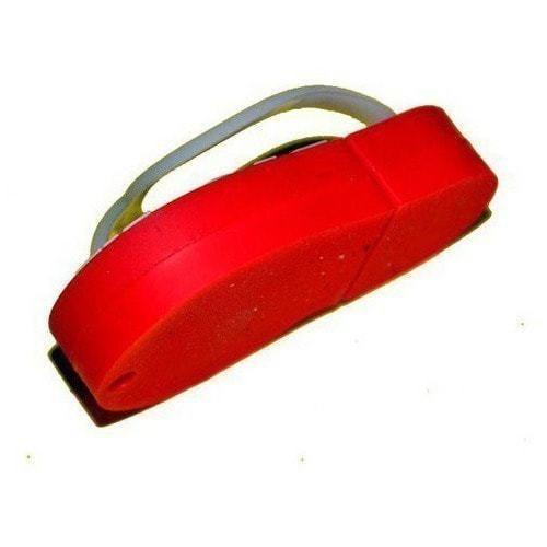Подарочная флешка. Шлепанец красный (фото, вид 4)