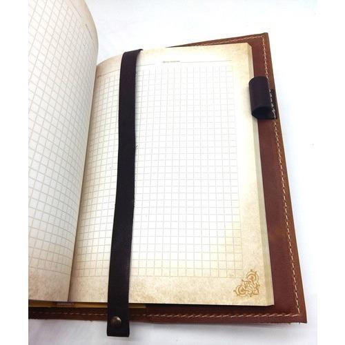 Подарочный ежедневник в кожаной обложке. Медицина - 1 (цвет коричневый) (фото, вид 1)