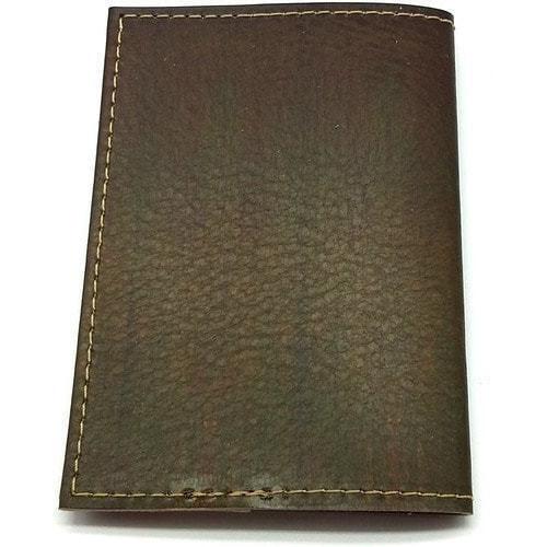 Кожаная обложка на паспорт. Самурай (фото, вид 2)