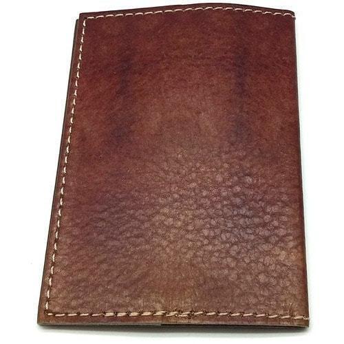 Кожаная обложка на паспорт. Индеец (фото, вид 2)