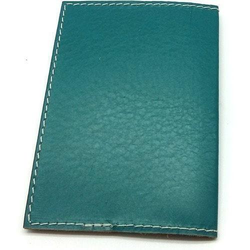 Кожаная обложка на паспорт. Кот-моряк (фото, вид 2)