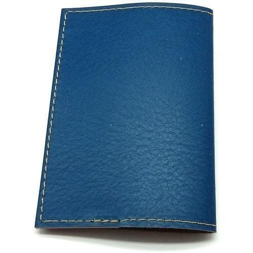 Кожаная обложка на паспорт. У моря (фото, вид 2)