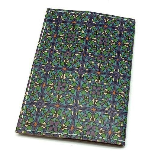 Кожаная обложка на паспорт. Тоторо (фото, вид 2)
