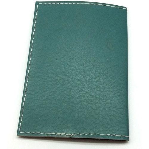 Кожаная обложка на паспорт. Девушка на юге (фото, вид 2)