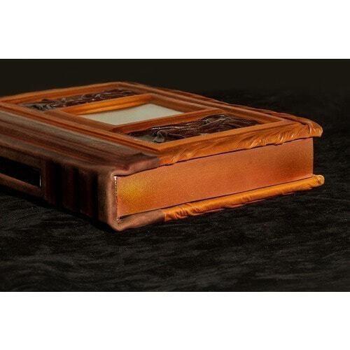 Подарочная книга в кожаном переплете. Никколо Макиавелли. Государь (фото, вид 8)