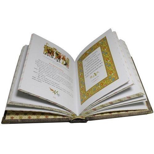 Подарочная книга в кожаном переплете. Притчи (фото, вид 7)