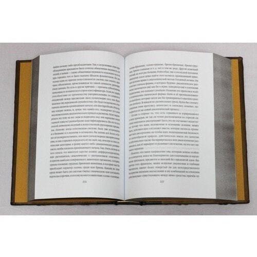 Подарочная книга в кожаном переплете. Россия и Европа (фото, вид 7)