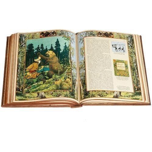 Подарочная книга в кожаном переплете. Русская охота (фото, вид 11)