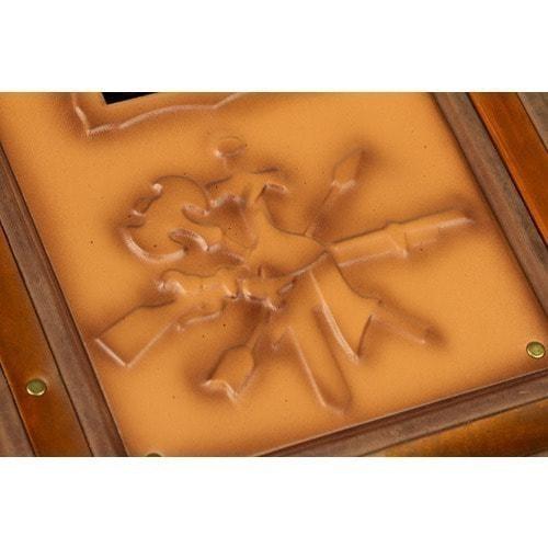 Подарочная книга в кожаном переплете. Русское оружие (фото, вид 6)