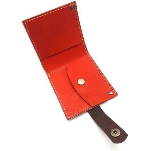 Кожаный кошелек. Ирисы (фото, вид 2)