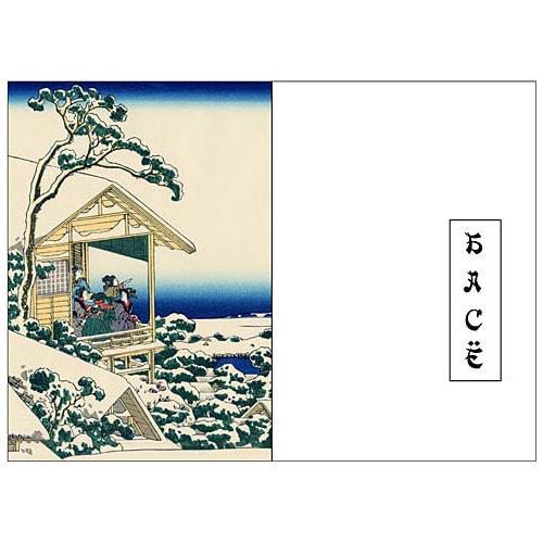 Подарочный набор с миниатюрной книгой в кожаном переплете. Басё. Бусон. Исса. «ХОККУ» (фото, вид 1)