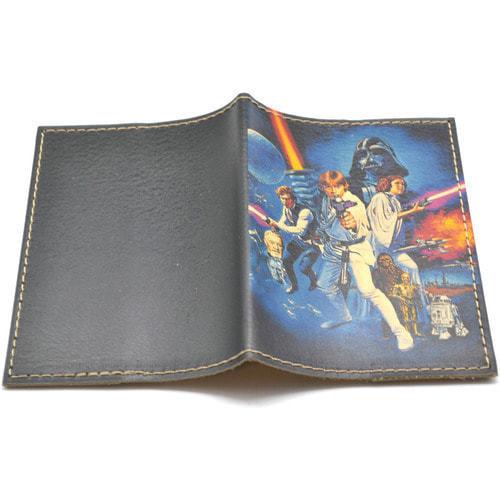 Кожаная обложка на паспорт. Звездные войны (фото, вид 1)