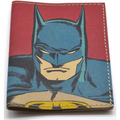 Кожаная обложка на паспорт. Супергерои. Бэтмен (фото, вид 2)
