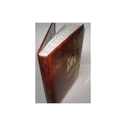 Подарочная книга в кожаном переплете. Александр Пушкин. Руслан и Людмила (фото, вид 3)