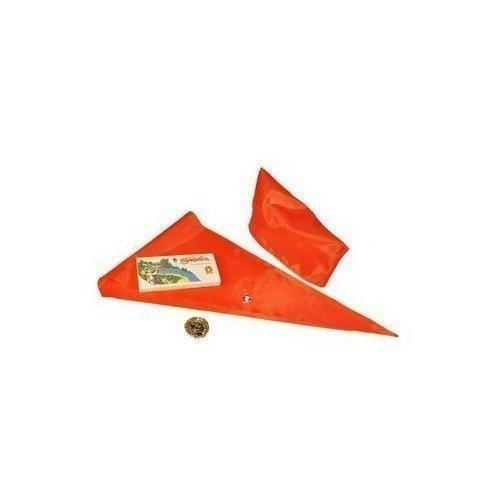 Подарочный набор. Путевка в пионерский лагерь (пионерский галстук + пилотка + пионерский значок + магнит) (фото, вид 2)