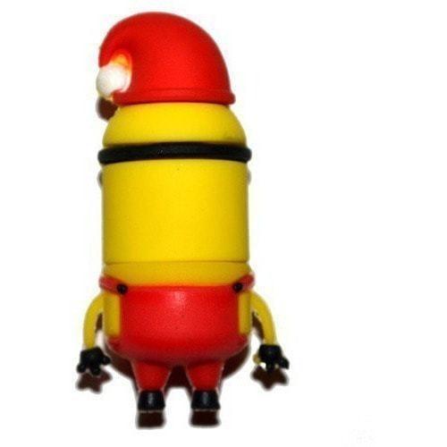 Подарочная флешка. Миньон в рождественской шапке (фото, вид 2)