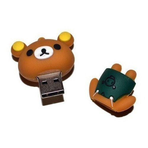 Подарочная флешка. Медвеженок (фото, вид 1)