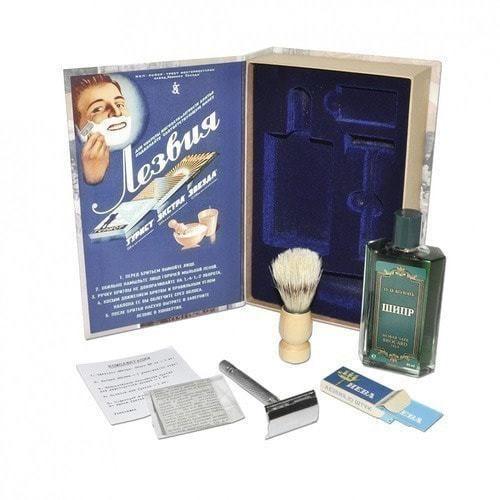 """Подарочный ретро-набор для мужчин, с одеколоном """"Шипр"""" (фото, вид 1)"""