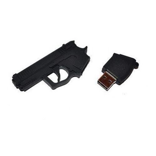 Подарочная флешка. Пистолет (фото, вид 1)