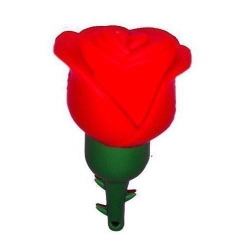 Подарочная флешка. Цветок. Красная роза (фото, вид 2)