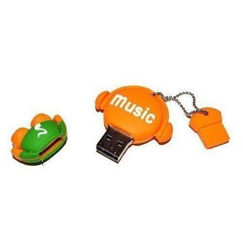 Подарочная флешка. Music-man (фото, вид 1)