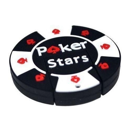 Подарочная флешка. Покерная фишка Poker Stars (фото, вид 3)