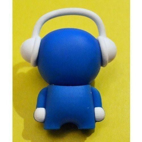 Подарочная флешка. Музыкальный человек (синий) (фото, вид 2)