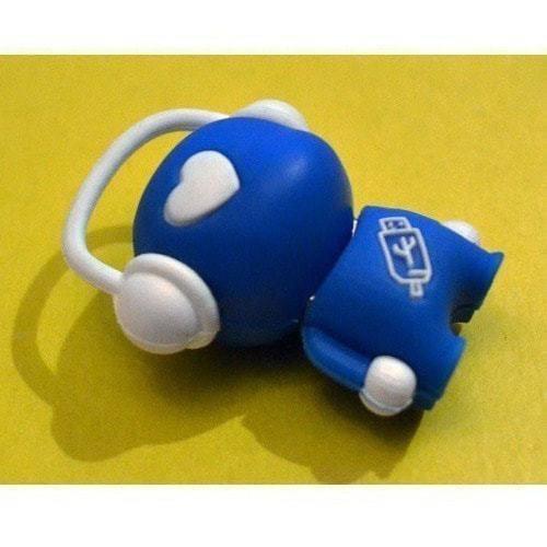 Подарочная флешка. Музыкальный человек (синий) (фото, вид 3)