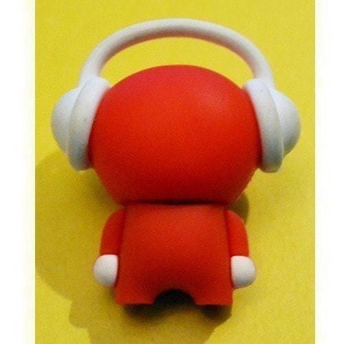 Подарочная флешка. Музыкальный человек (красный) (фото, вид 2)