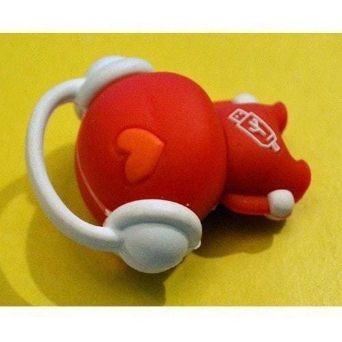 Подарочная флешка. Музыкальный человек (красный) (фото, вид 3)