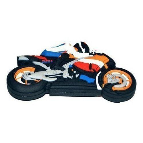 Подарочная флешка. Мотоциклист (фото, вид 1)