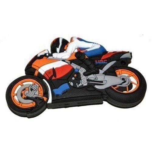 Подарочная флешка. Мотоциклист (фото, вид 3)