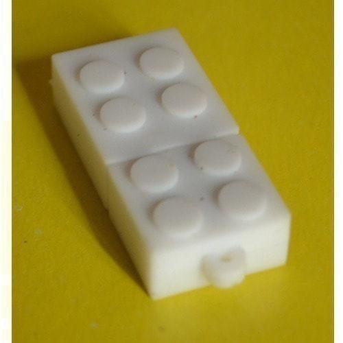 Подарочная флешка. Конструктор Лего. Белый (фото, вид 3)