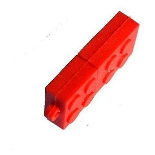 Подарочная флешка. Конструктор Лего. Красный (фото, вид 3)
