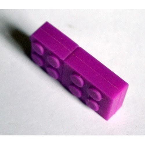 Подарочная флешка. Конструктор Лего фиолетовый (фото, вид 3)