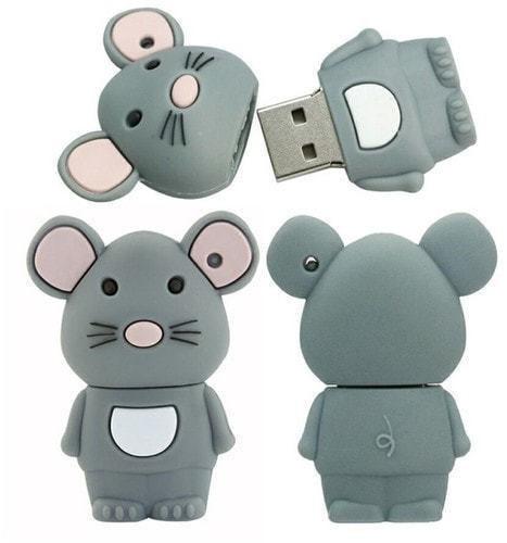 Подарочная флешка. Мышонок (фото, вид 1)