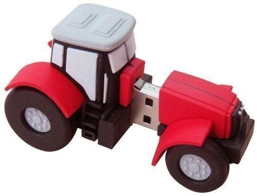 Подарочная флешка. Строительная техника. Трактор (фото, вид 3)