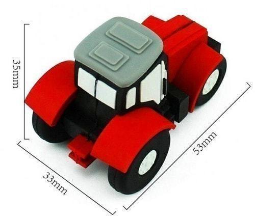 Подарочная флешка. Строительная техника. Трактор (фото, вид 4)