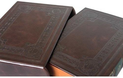 Подарочная книга в кожаном переплете. Футбол. Великое наследие (в футляре) (фото, вид 5)