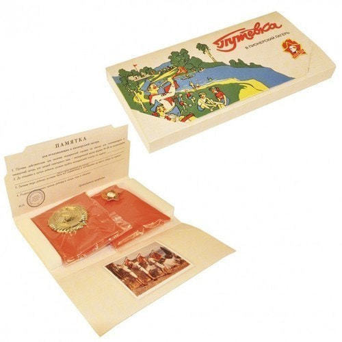 Подарочный набор в деревянном сундуке. Ностальгия (фото, вид 1)