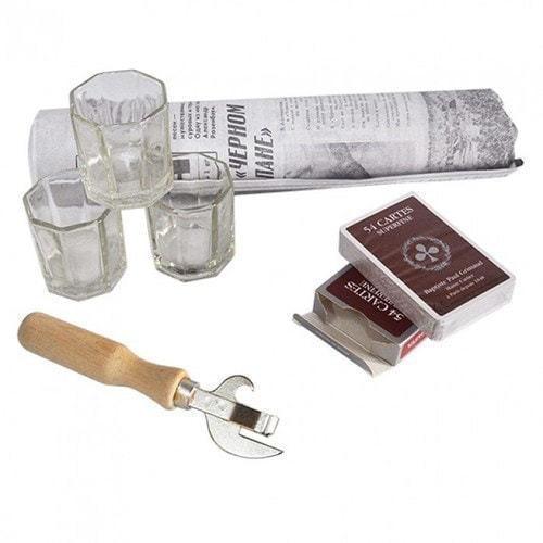 Подарочный набор в деревянном сундуке. Ностальгия (фото, вид 2)