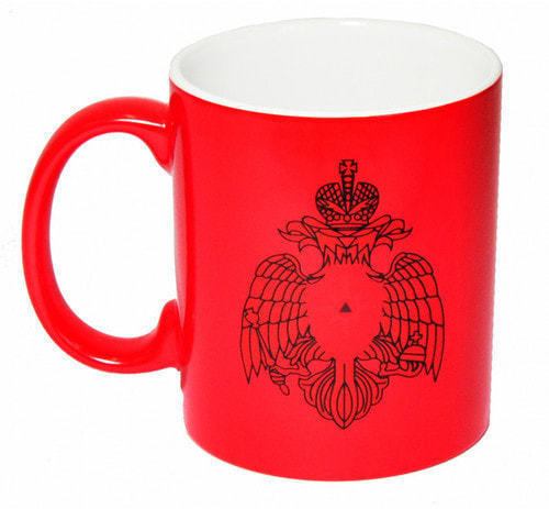 Подарочная керамическая кружка-хамелеон. МЧС России (фото, вид 2)